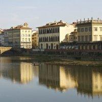 Река Арно, Флоренция :: Sofia Rakitskaia