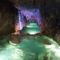 Красная пещера,подземная река :: Юрий Кальченко