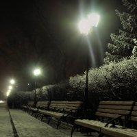 Зимний сквер :: Иван Глок