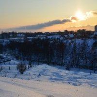 Искристый снег :: Valery Bulkovsky