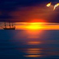 Далекие паруса :: Владимир Ноздрачев