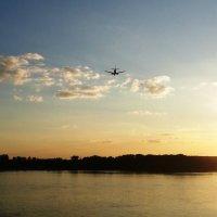 Самолет в небе :: Екатерина Богданова