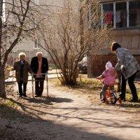 встреча поколений :: сергей крючков