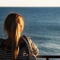 Взгляд в бескрайнее Черное море... :: Frol Polevoy