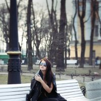 прогулка :: анастасия Плаксеева