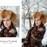 зима :: анастасия Плаксеева