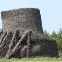 Рукотворная громада из лозы.) :: Наталья Иванова