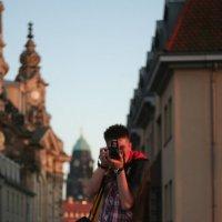 Сфотографировал брата в Дрездене :: Иван Байков