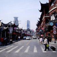 Шанхай-старый и новый :: михаил кибирев