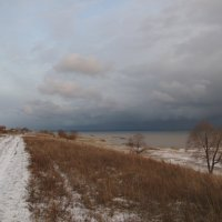 берег обского моря в октябре 2011г :: Валентина Хазова