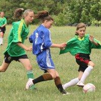 Девушки и футбол :: Юрий Кальченко