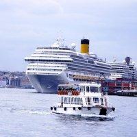 В порту Стамбула :: михаил кибирев