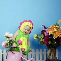 Юный цветочек :: Татьяна Кубекова