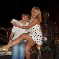 мой учитель и я :: Дмитрий Бежик