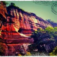 Красные горы Данься :: Оуян Фанфэй