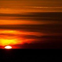 Закаты ,  Атлантический океан :: человечик prikolist