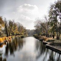 Озеро г.Комсомольск :: Эдуард Аверьянов