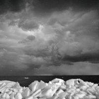 Зимний морской берег :: дмитрий атаманюк