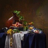 Натюрморт в голландском стиле с мясом и фруктами :: Светлана Л.