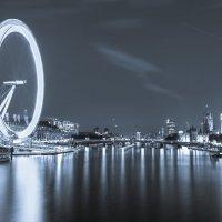 View on London Eye and Elizabeth Tower( Big Ben) :: Anna Aleksandrova