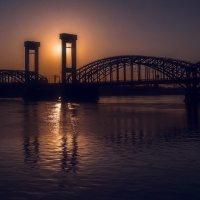 Финляндский железнодорожный мост :: Михаил Александров
