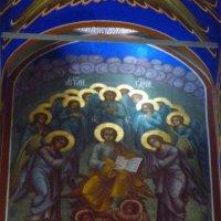 Внутренняя роспись  Богородице-Рождественского  собора  Суздальского кремля. :: Galina Leskova