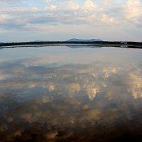 Кокше, вид с озера Катарколь. :: Владимир Анатольевич