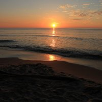 Балтийский берег, рыжая заря... :: татьяна *
