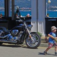 чихали мы на мотоцикл :: Валерий Дворников