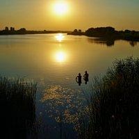 двое на озере :: юрий иванов