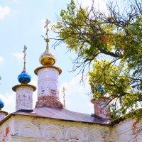 Купола храма. :: Виктор Евстратов