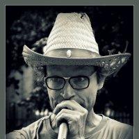 Солист уличного оркестра... :: Владимир Секерко