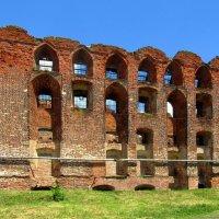 Руины замка Рагнит :: Сергей Карачин