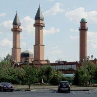 Татарская мечеть «Ярдэм» и Азербайджанская шиитская мечеть «Инам» :: Александр Качалин