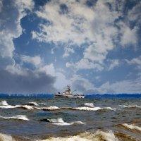 Ветер по морю гуляет :: Наталья Джикидзе (Берёзина)