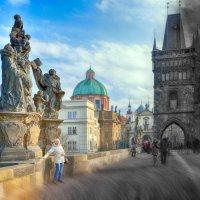 Прага, Карлов мост :: Михаил Латшин