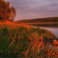 Закат на реке :: Сергей Винтовкин