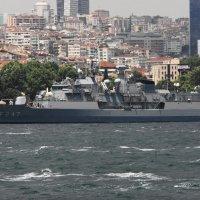 Фрегат ВМС Турции :: Александр Владимирович Никитенко