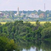 Река Ока и город Белёв. :: Виктор Евстратов