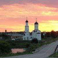 Закат в Бурмистрово :: Рустам Илалов