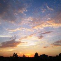 На закате :: Самохвалова Зинаида