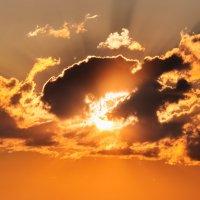 Закат над Шумилином. 5 августа 2014. 01. :: Анатолий Клепешнёв