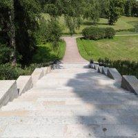 Лестница в Павловском парке :: Наталия Короткова