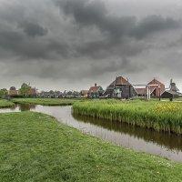 Нидерланды...Заансе-Сханс  — музей под открытым небом... :: Александр Вивчарик