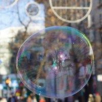 Мир, через мыльный пузырь. :: Андрей Печерский