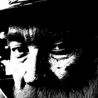 ЧЕРНЫЙ  АВТОПОРТРЕТ :: Валерий Викторович РОГАНОВ-АРЫССКИЙ