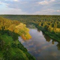 река Уфа 7 августа 2014 :: Рыжик