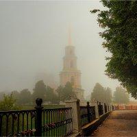 Туманное утро в Рязанском Кремле :: Nikita Volkov