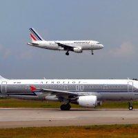 AEROFLOT and AIRFRANCE :: vg154