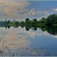 Москва река в Крылатском :: Дмитрий Анцыферов